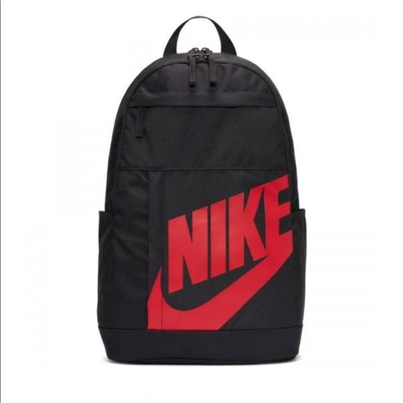 Nike Elemental 2.0 backpack Black & Red NWOT